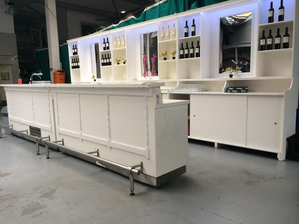 Bar / Achterwand Combinatie huren Ter Aar - Nieuwkoop