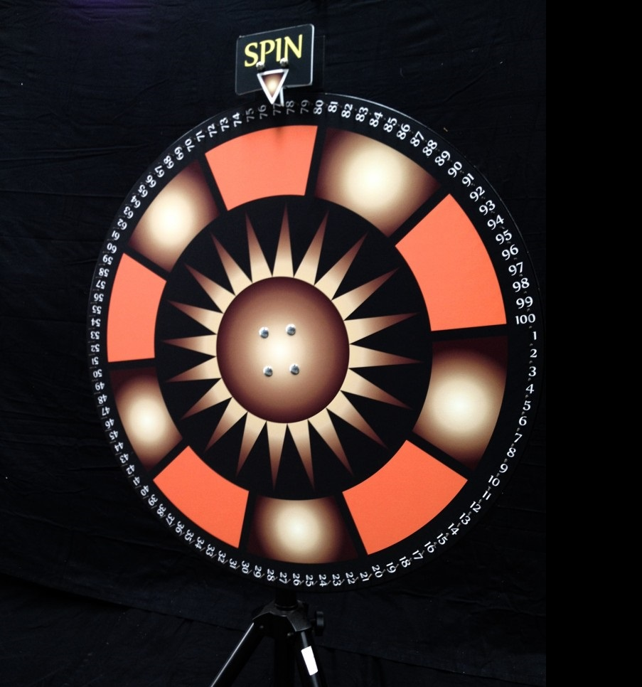 Wheel of Fortune Rad van Fortuin huren Ter Aar - Nieuwkoop