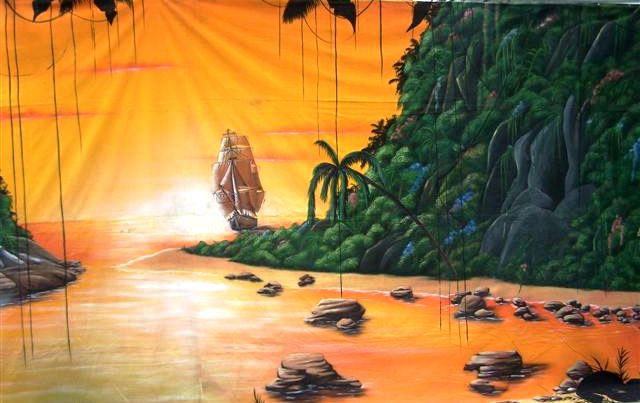 Decordoek Lagune huren Ter Aar - Nieuwkoop