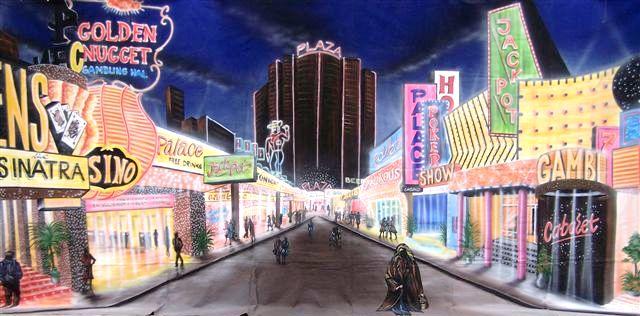 Decordoek Las Vegas huren Ter Aar - Nieuwkoop