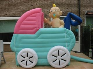 Kinderwagen Opblaasfiguur huren Ter Aar - Nieuwkoop