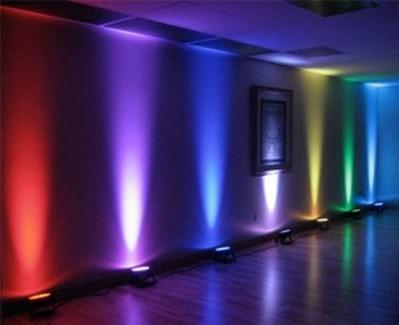 LED Uplighter huren - Partyverhuur Ter Aar - Nieuwkoop