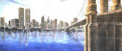 Decorddoek Amerika USA New York Type 2 huren - Ter Aar