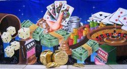 Decordoek Casino huren Ter Aar - Nieuwkoop