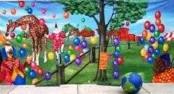 Decordoek Circus Buiten huren Ter Aar - Nieuwkoop
