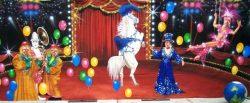 Decordoek Circus huren Ter Aar - Nieuwkoop